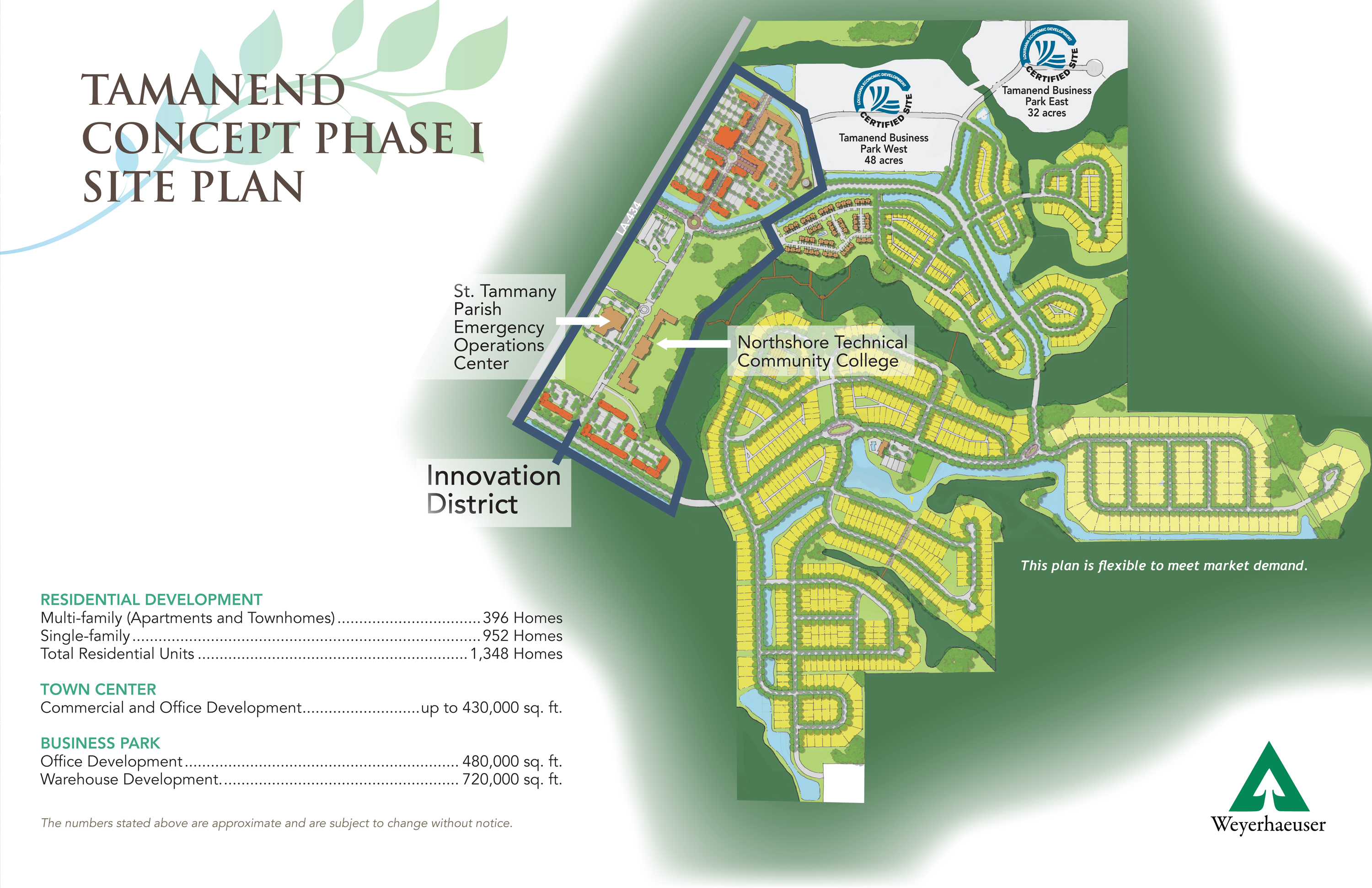Tamamend Phase I Concept Plan